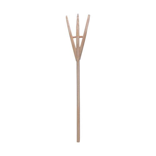 Heugabel 14x3 cm Zubehör für DIY-Krippe 3