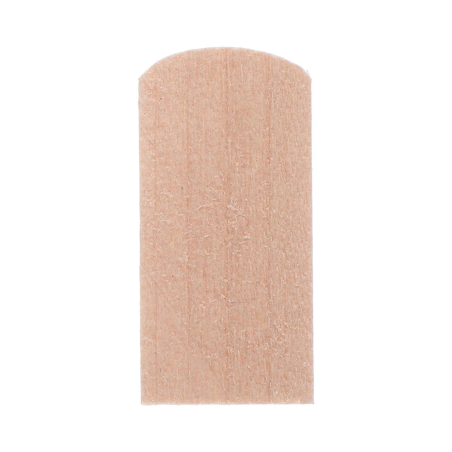 Scandole di legno 1,2x2,4 cm presepe 100 pz 4