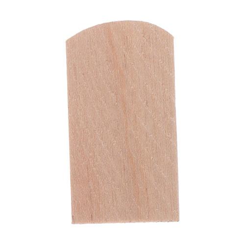 Tejas madera 100 piezas belén 1,5x3 cm 2