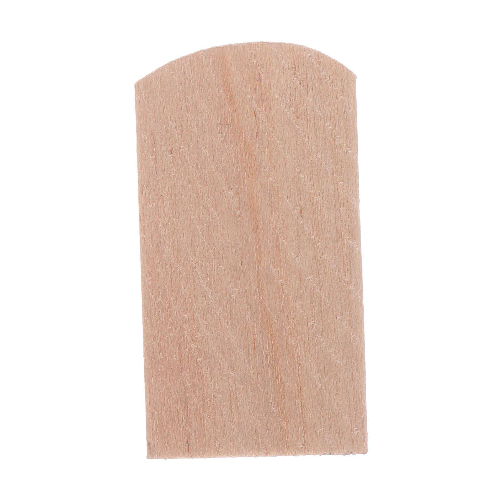 Scandole legno 100 pz presepe 1,5x3 cm 4