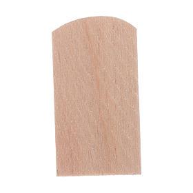 Scandole legno 100 pz presepe 1,5x3 cm s2
