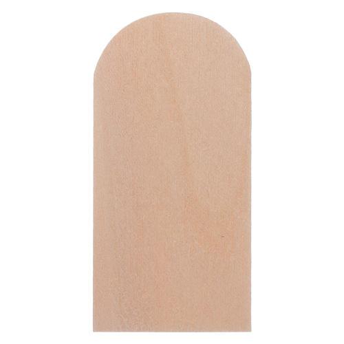 Scandole legno presepe 100 pz 2,5x5 cm 2