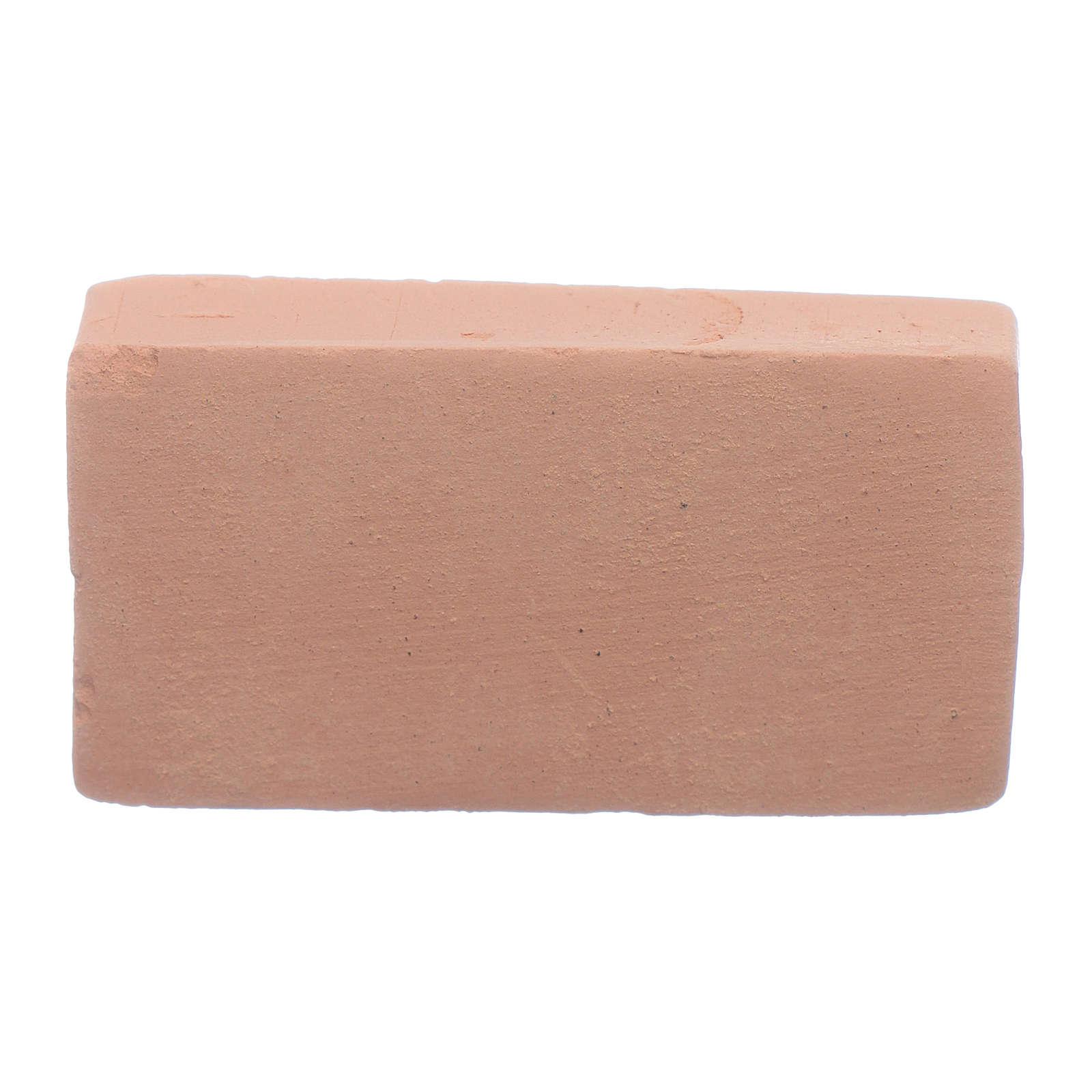 Ziegelsteine für Krippe 3,5x2 cm Terrakotta 4