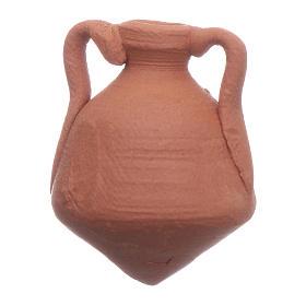 Anfora terracotta presepe 2,5x2 cm s1