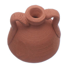 Anfora terracotta presepe 2,5x2 cm s2