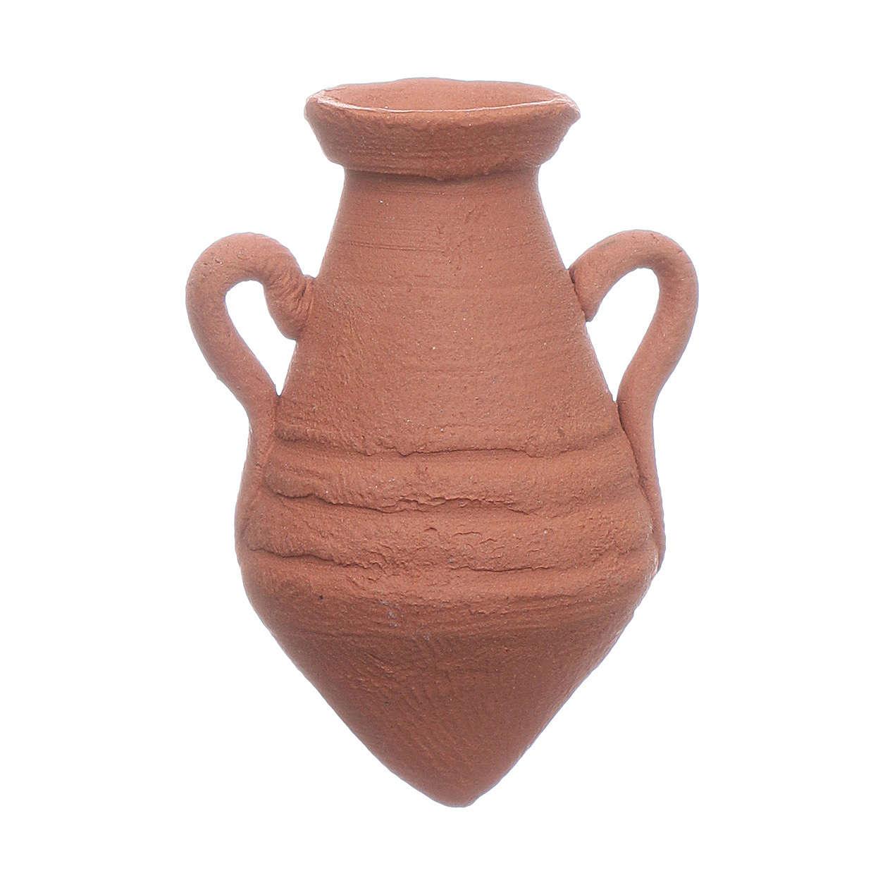 Terracotta amphora assorted models 3,5x3 cm 4