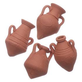Terracotta amphora assorted models 3,5x3 cm s2