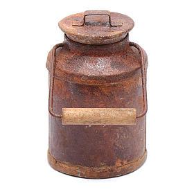 Cubo de leche oxidado belén 5x3 cm s3