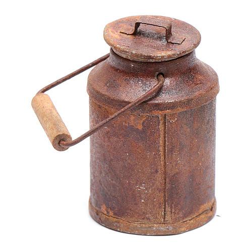 Cubo de leche oxidado belén 5x3 cm 1