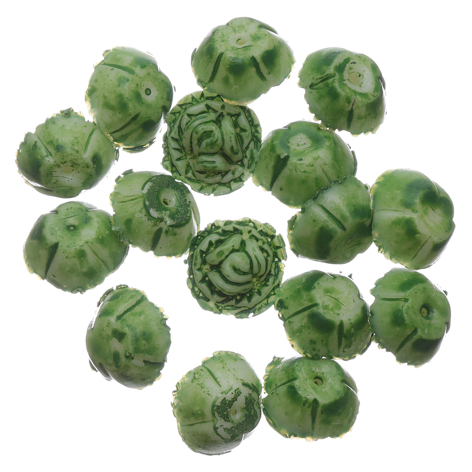 Cabbage 24 pieces for DIY Nativity Scene 1.5x1.5 cm 4