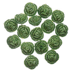 Cabbage 24 pieces for DIY Nativity Scene 1.5x1.5 cm s1