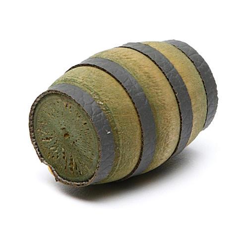 Tonneau marron crèche 2,5 cm hauteur réelle 2