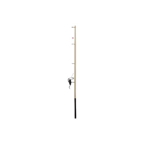 Canna da pesca presepe legno h reale 17,5 cm 1