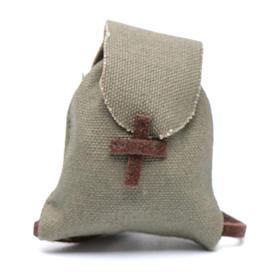 Home accessories miniatures: Miniature nativity scene knapsack 4x3,5 cm