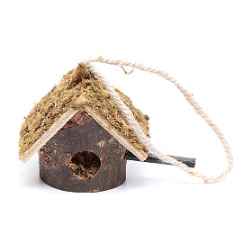 Birdhouse for manger scene small s1