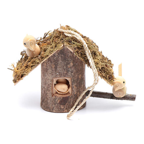 Birdhouse for nativity scene 1