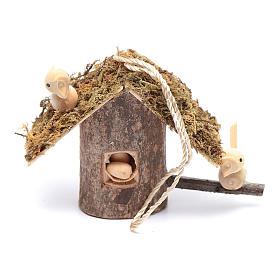 Birdhouse for nativity scene s1