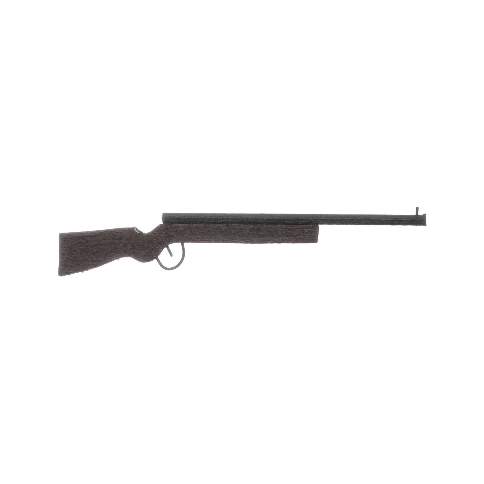 Fucile da caccia miniatura presepe lung. 10 cm 4