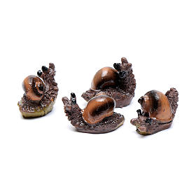 Snail for Nativity Scene real height 2.5 cm s2