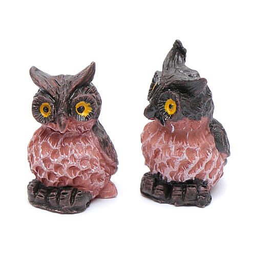 Nativity Owl real h 2 cm 2