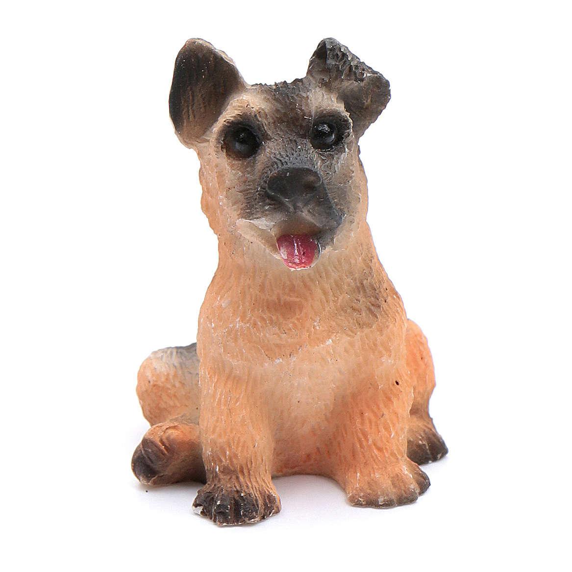 Cane assortito presepe altezza reale 3,5-4 cm 3