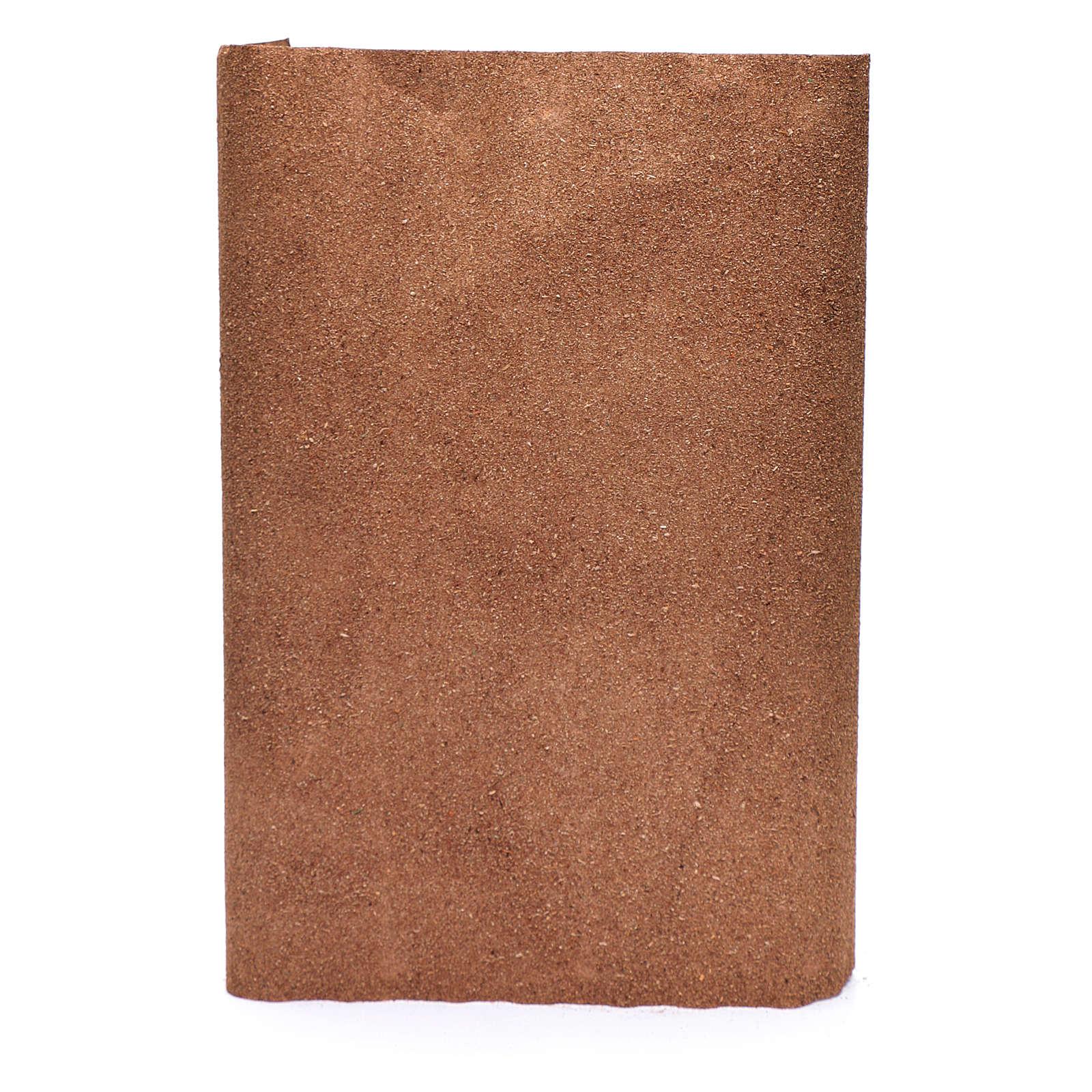 Rotolo carta marrone per presepe fai da te 50x70 cm 4