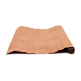 Rotolo carta marrone per presepe fai da te 50x70 cm s2