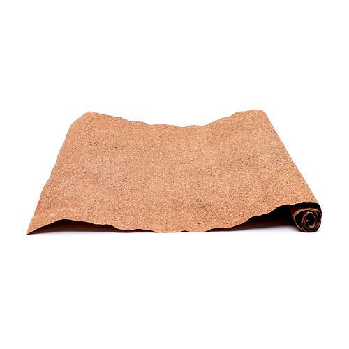 Rotolo carta marrone per presepe fai da te 50x70 cm 2