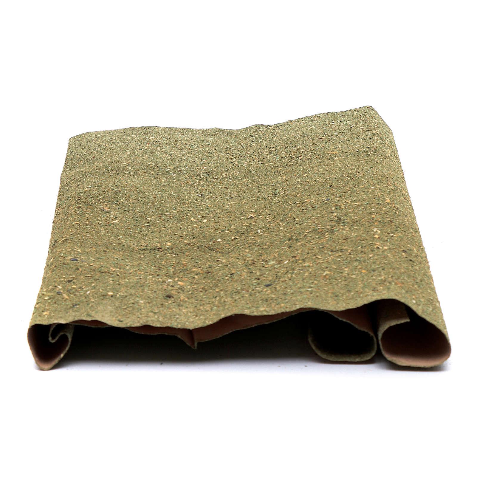 Rolo papel para grama para bricolagem presépio 50x70 cm 4