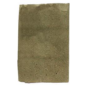 Rolo papel para grama para bricolagem presépio 50x70 cm s1