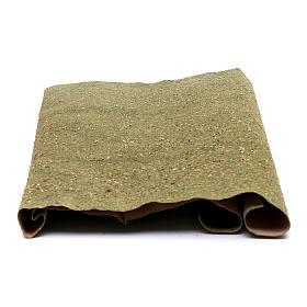 Rolo papel para grama para bricolagem presépio 50x70 cm s2