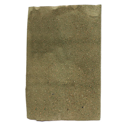 Rolo papel para grama para bricolagem presépio 50x70 cm 1