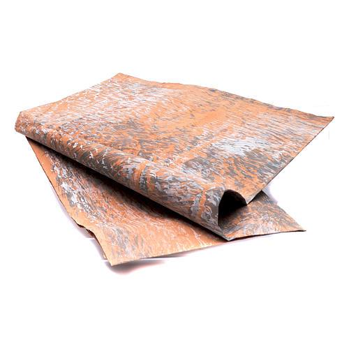 Papier skały ręcznie malowany 70x100 cm szopka zrób to sam 2
