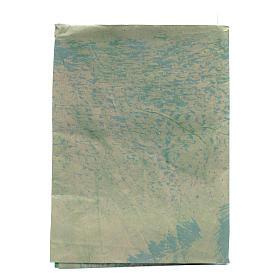 Foglio 70x100 cm carta roccia dipinta a mano per presepi s1
