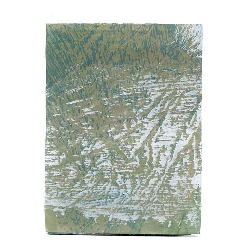 Hoja papel para belenes pintada a mano roca 70x100 cm 1