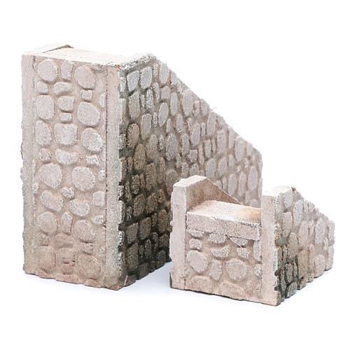 Cork terracotta stairs 2 pieces 3