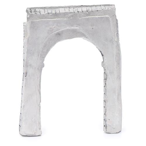 Pared de arco resina 15x15 cm para belén 3