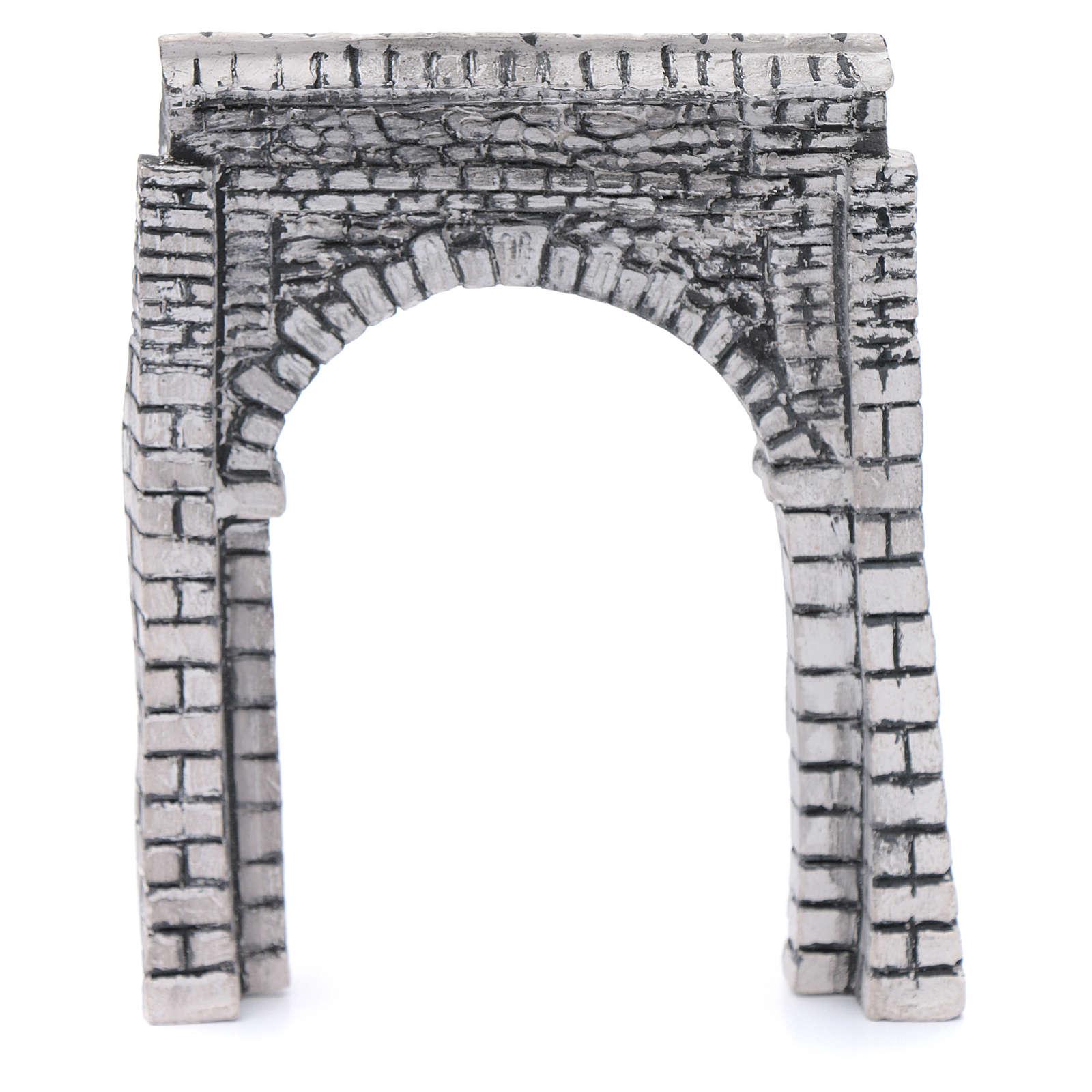 DIY nativity arched wall resin 15x15 cm 4