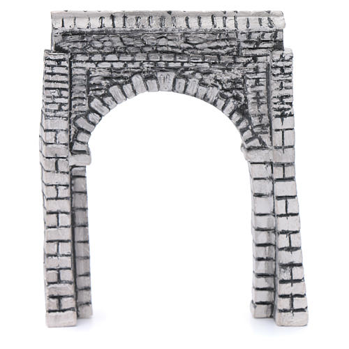 DIY nativity arched wall resin 15x15 cm 1
