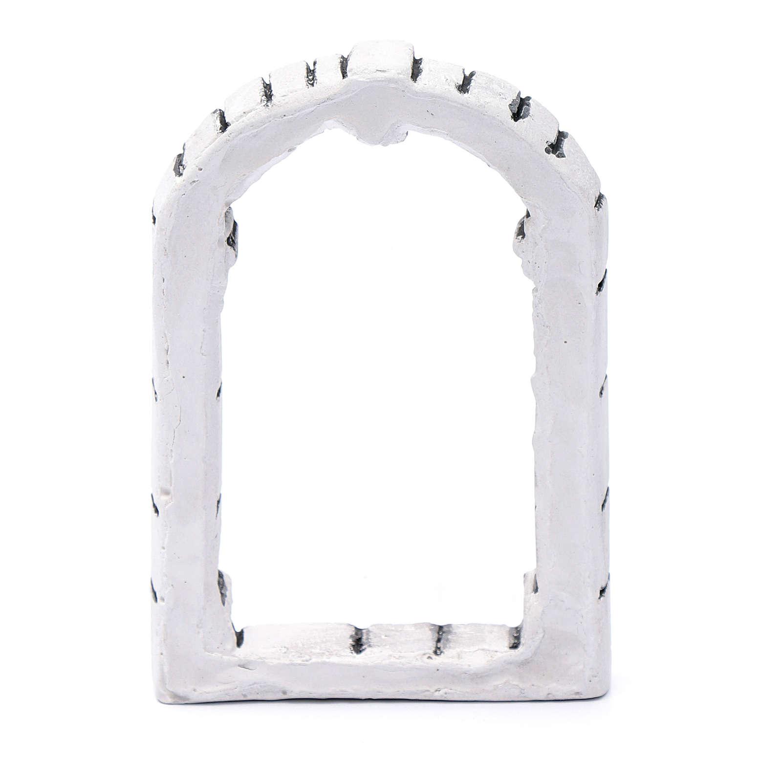 Fenêtre bricolage crèche 13,3x9x1,8 cm résine 4