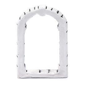 Fenêtre bricolage crèche 13,3x9x1,8 cm résine s3