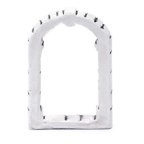 Fenêtre bricolage crèche 13,3x9x1,8 cm résine 3