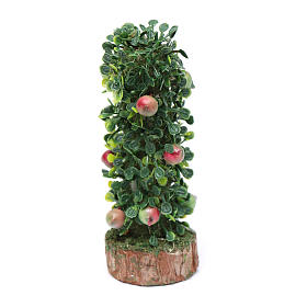 Moss, Trees, Palm trees, Floorings: Nativity scene hedge with fruit 10 cm