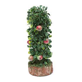 Muschio, licheni, piante, pavimentazioni: Siepe di frutta per presepe h reale 10 cm