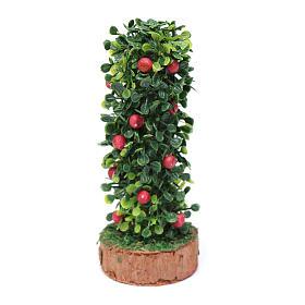 Siepe frutta presepe h reale 10 cm s2
