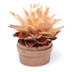 Cactus in vaso h reale 6 cm presepe s2