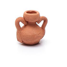 Acessórios de Casa para Presépio: Jarra cerâmica modelos vários h real 1,5 cm