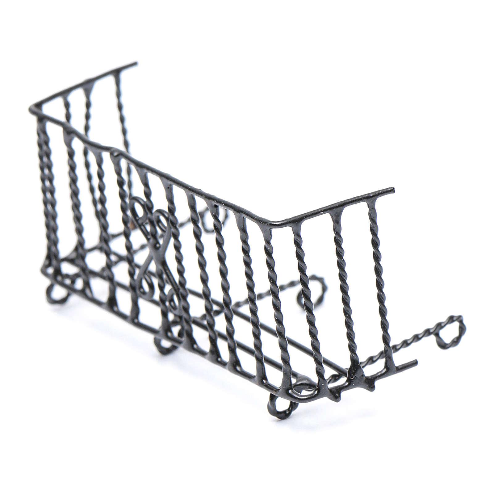 Balcón metal belén h real 6 cm 4