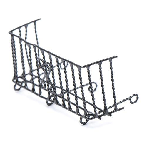 Balcón metal belén h real 6 cm 2