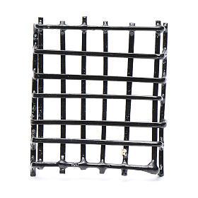 Garde-fenêtre métal crèche h réelle 3 cm s1